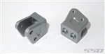 SSD RC Diamond Axle Link Mounts for Yeti / Wraith (Grey)