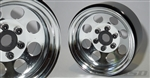 "SSD RC 1.9"" Steel 8 Hole Beadlock Wheels (Chrome) (2)"
