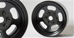 "SSD RC 1.9"" Steel Slot Beadlock Wheels (Black) (2)"