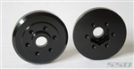 SSD RC Brass Wheel Hubs (Black) (2)