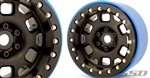 "SSD RC 2.2"" Contender PL Beadlock Wheels (Black) (2)"