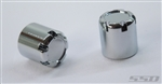 SSD RC Rear Hubs Chrome