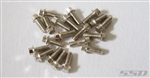 SSD RC Silver M2 x 5mm Scale Hex Bolts (20)