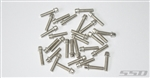 SSD RC M2.5 x 10mm Scale Wheel Bolts (Silver) (30)