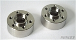 SSD RC Steel 6mm Offset Wheel Hubs (2)