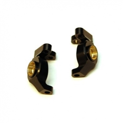 STRC Brass Steering Knuckles (1 Pair) for Element Enduro (Black)