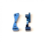 STRC Aluminum Wheelie Bar Mount for Associated DR10 - Blue