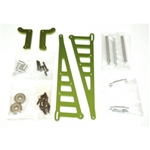 STRC Aluminum Wheelie Bar Kit for Associated DR10 - Green