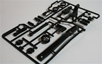 Tamiya Pajero D parts   Shock parts and light cover