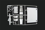 Tamiya King Hauler P parts Interior