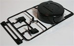 Tamiya RC Pajero J Parts Mirror and spare cover