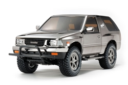 Tamiya RC Isuzu Mu Type X CC01 1/10 Scale Kit - Black Metallic Edition