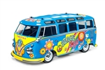 Tamiya RC M-05L 1/10 Scale Kit with Volkswagen Type 2 T1 Body - Flower Power Edition