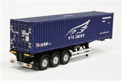Tamiya RC 1/14 40ft NYK Container Semi Trailer