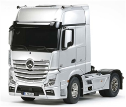 Tamiya RC 1/14 Mercedes-Benz Actros 1851 GigaSpace Semi Truck Kit