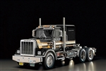 Tamiya RC 1/14 King Hauler Semi Truck Kit - Black Edition