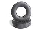 Tamiya RC Tractor Truck Tires (2pcs) - Hard / 22mm