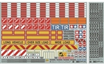 Tamiya RC Sticker Set for 1/14 Scale R/C Truck & Trailer