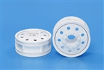 Tamiya RC 22mm Front Wheels 2pcs - White