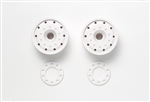 Tamiya RC 30mm Ball Bearing Wheels 2pcs - White