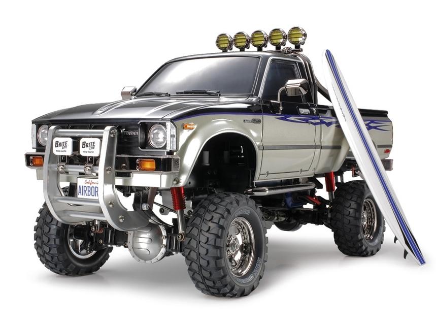 Tamiya RC Toyota Hilux High Lift - 4x4-3SPD