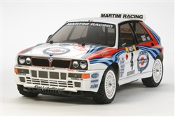 Tamiya RC Lancia Delta Integrale XV-01 1/10 4WD Rally Kit