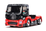 Tamiya RC TT-01 Type E 1/14 Scale Kit with Tankpool24 Mercedes Actros Body