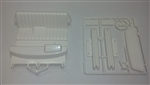 Tamiya RC Bruiser E Parts Hilux Interior