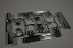 Tamiya Pajero H parts  Bumpers, Headlight Buckets, Fog light buckets.