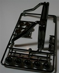 Tamiya RC Hi-Lift Hilux K Parts (roll bar and lights)
