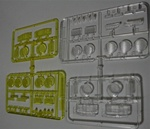 Tamiya Hi Lift Hilux P parts (clear lens parts)