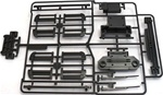 Tamiya Tundra W parts Wipers, Roof Rack Parts