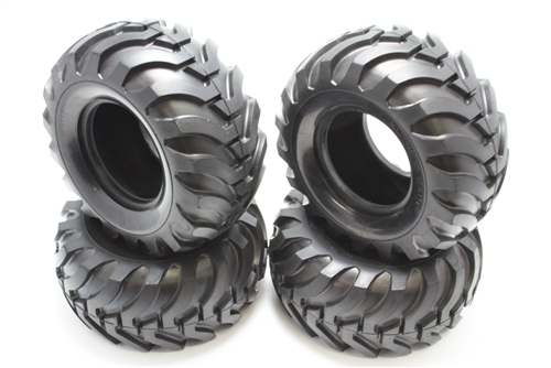 Tamiya RC Bruiser Tires (4)
