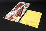Tamiya RC Clod Buster Sticker Sheet