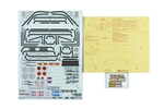 Tamiya RC Toyota Land Cruiser 40 58405 Sticker & Masking
