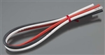 "Tekin 12AWG Silicone Power Wire 3pcs 12"" Red / Black / White"