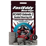Team Fast Eddy RC4WD Gelande 2 Sealed Bearing Kit