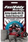 Team Fast Eddy ARRMA Granite 4X4 3S Sealed Bearing Kit