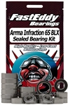 Team Fast Eddy ARRMA Infraction 6S BLX Sealed Bearing Kit