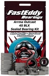 Team Fast Eddy ARRMA Outcast 4S BLX Sealed Bearing Kit