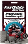 Team Fast Eddy ARRMA Outcast 6S Sealed Bearing Kit