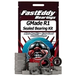 Team Fast Eddy Gmade R1 Rubber Sealed Bearing Kit