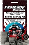 Team Fast Eddy Tamiya 3-Axle Semi-Trailer Sealed Bearing Kit