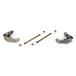 Team Losi Racing Aluminum Trailing Spindle: 22