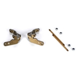 Team Losi Racing Trailing Spindle, Aluminum 4mm: 22