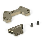 Team Losi Racing Rear Camber Block, Mid Motor, Aluminum, 22/22T