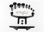 Traxxas Body Mount Front & Rear Body Post and Hardware (Black)