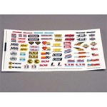 Traxxas Sponsor Decal Sheet:TMX.15,2.5,3.3,SLY