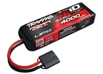 Traxxas LiPo 3S 11.1V 4000mAh 25C Battery w/iD Connector