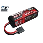 Traxxas LiPo 3S 11.1V 6400mAh 25C Battery w/iD Connector